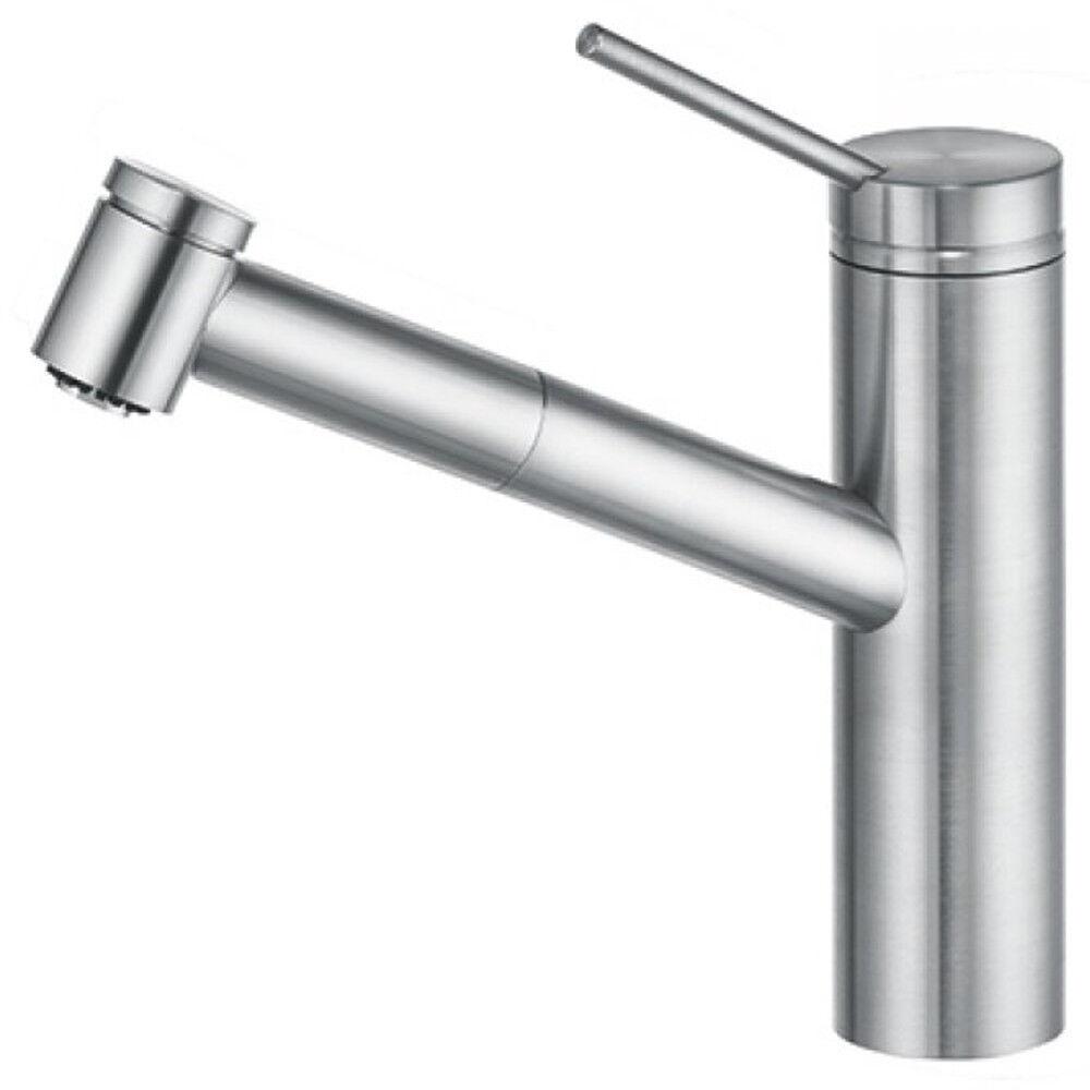 Kludi Spültisch Armatur für Küche Wasserhahn Küchenarmatur mit Brause Edelstahl