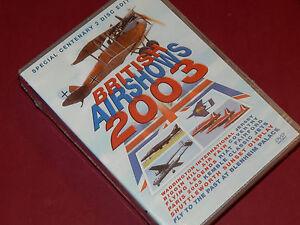 BRITISH-AIRSHOWS-2003-2004-2005-4-Disc-DVD-NEW