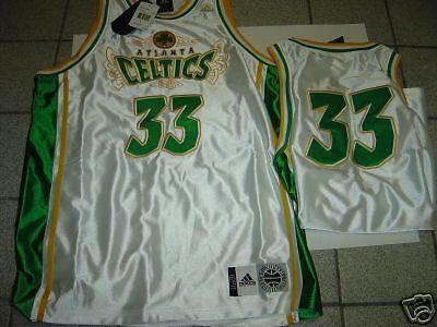 Adidas atlanta celtics numero 33 basket jersey medio su ebay