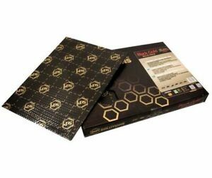Stp Noir Or - 750x500x2,3mm Bulk Pack (12 Pièces) 73910102 Alubutyl