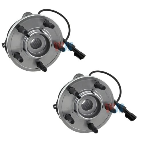 Pair Set of 2 Front WJB Wheel Bearing and Hub Assies Kit for Ford Explorer AWD