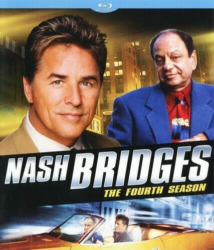 Nash Bridges: The Fourth Season (Season 4) (3 Disc) BLU-RAY NEW
