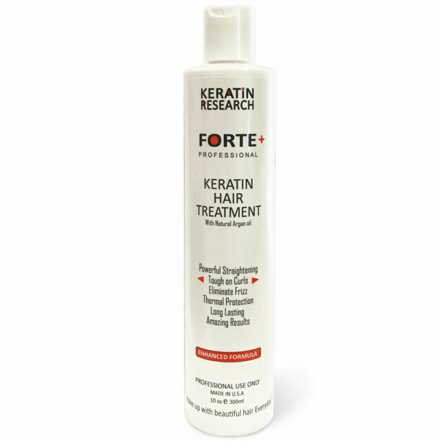 Keratin Forte Brazilian Blowout Treatment Straightening Extra Strength 300ml Us For Sale Online Ebay