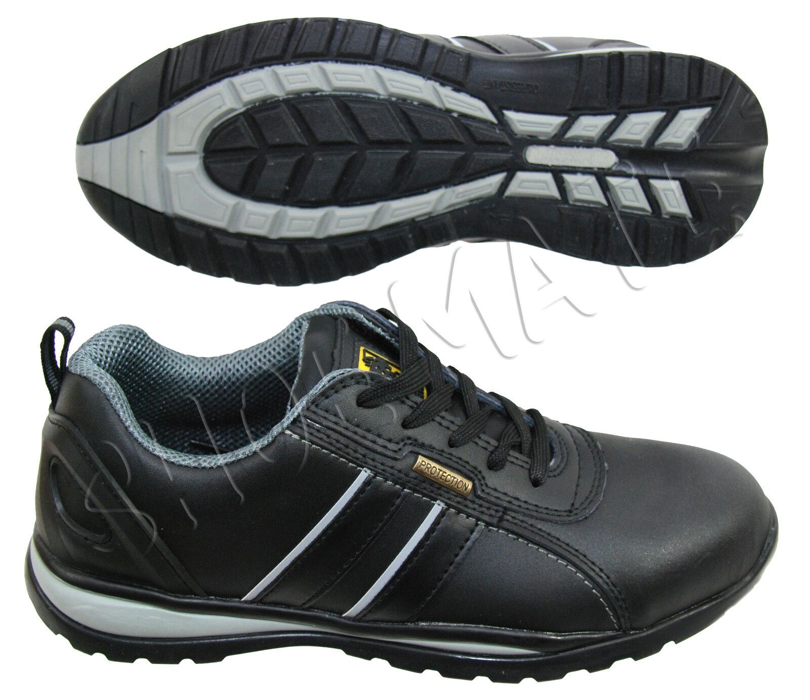 e6e21dce14946 Mens Lightweight Non Metal Plastic Composite Toe Cap Safety Work shoes Boots  UK