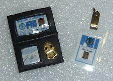 Barbie / Ken  Agent Fox Mulder FBI Badge & ID Tag Newly De-boxed ~ Free U.S Ship