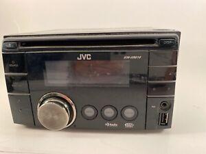 Double Din In Dash CD Receiver W/iPod/iPhone Controls & USB Input JVC KW-XR  610   eBayeBay