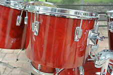 """ADD this 1982 TAMA SUPERSTAR 13"""" CHERRY WINE RED TOM to YOUR DRUM SET! LOT #T908"""