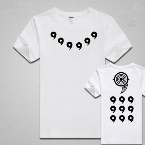 Anime Naruto Ten-Tails Sage of Six Paths Short T-shirt Cos Gift Customized