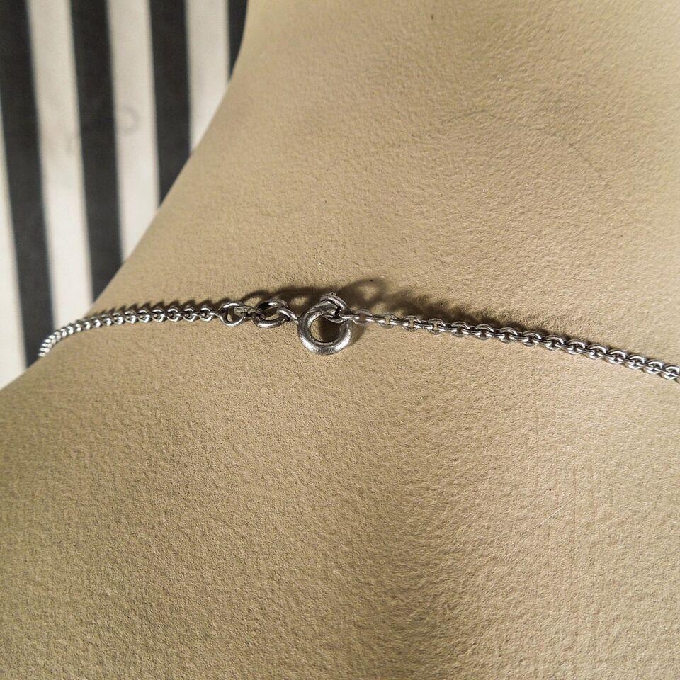 Halskæde, sølv, Vintage