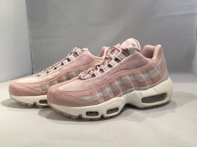best service b6078 232e2 Nike Air Max 95 LX Velvet Aa1103 600 Particle Rose/vast Grey Women's Shoes  Sz 5