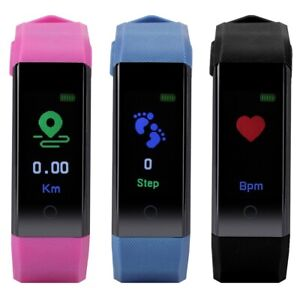 115p smartwatch fitness armband uhr pulsuhr blutdruck sportuhr wasserdicht led ebay. Black Bedroom Furniture Sets. Home Design Ideas