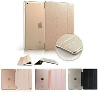 Slim Fashion Smart Pu Leather Case For Ipad 5 Air1/2 Mini1/2 Smart Cover Stand