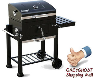 "24"" Charcoal Grill Kingsford BBQ Backyard Side Table ..."