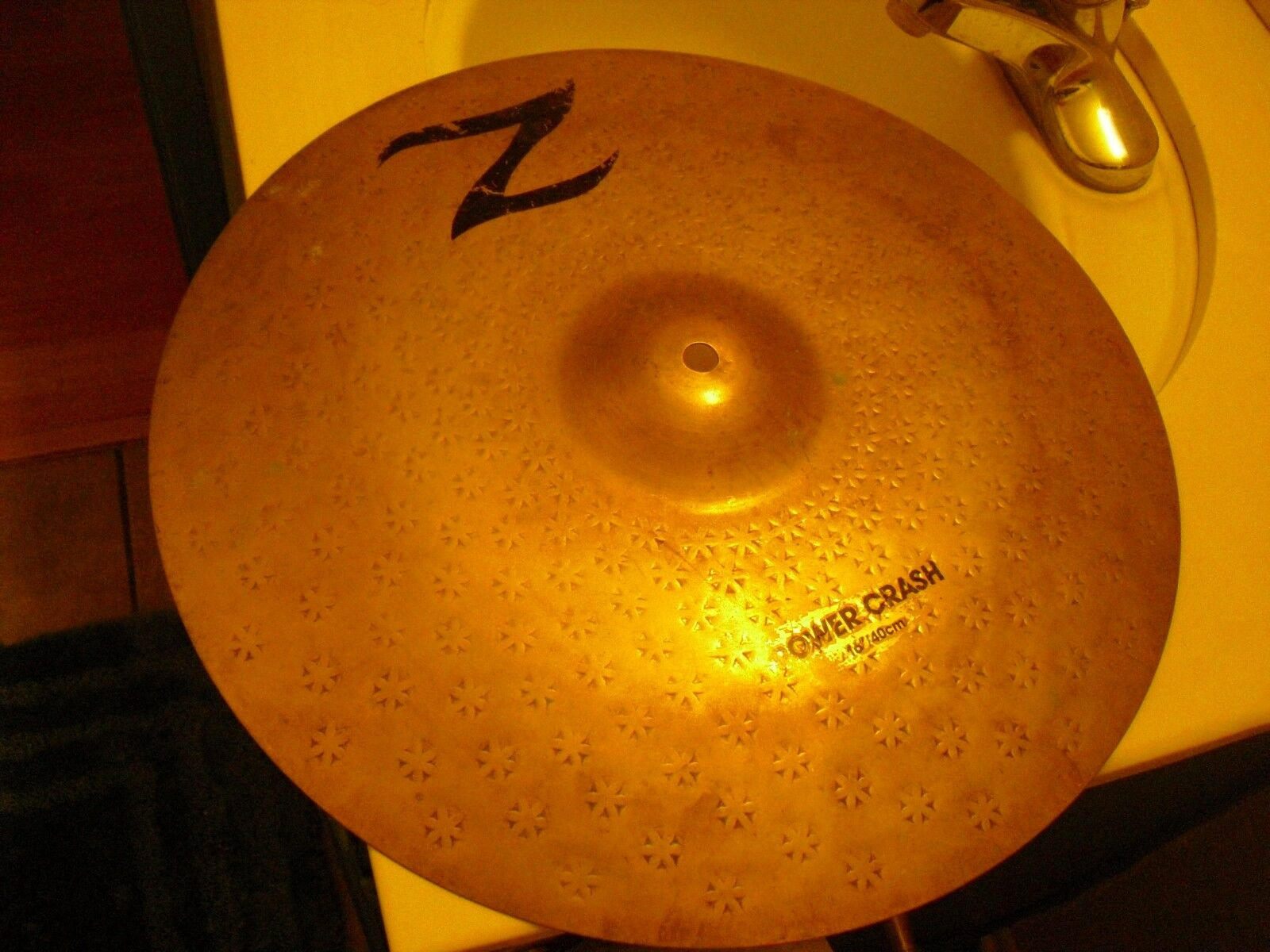 16  Zildjian Z Series Power Crash Cymbal raw finish 1250g