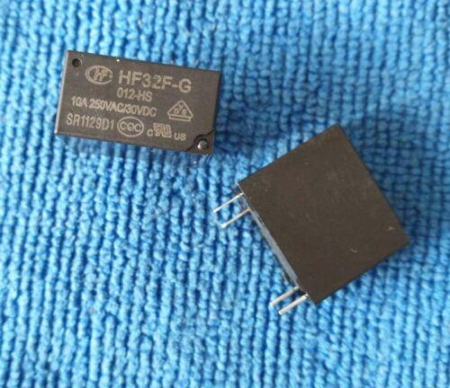 10pcs ORIGINAL 12V HF32F-G-012-HS JZC-32F-G-012-HS 10A 250VAC//30VDC POWER Relays