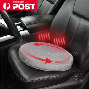 Swivel Car Seat >> Details About 360 Swivel Car Seat Cushion Memory Foam Rotating Seat Chair Mobility Car Soft