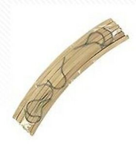 wooden craft coat hanger 6 pack ebay