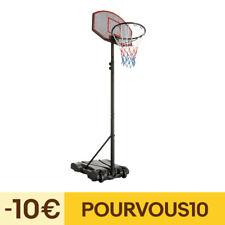 Panier de Basket sur Pied Mobile Stabile Hauteur Réglable de 178 à 213 cm