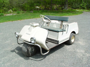 1972 HARLEY DAVIDSON AMF 3 wheel golf cart electric working ...