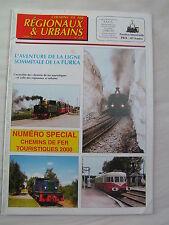 Chemins de fer régionaux et urbains 278 2000 Dampfbahn Furka Bergstrecke