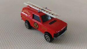 Voiture-Miniature-Majorette-Range-Rover-District-3-Fire-N-246-1-60-TBE