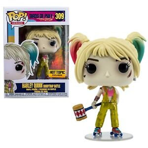 Harley Quinn Boobytrap Battle Funko Pop 309 Birds Of Prey Hot Topic Exclusive Ebay