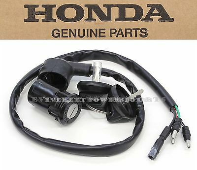 1986-1987 TRX200 SX FOURTRAX GENUINE HONDA OEM IGNITION SWITCH WITH 2 KEYS