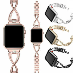 For-Apple-Watch-iWatch-Series-4-3-2-1-Stainless-Steel-Strap-Band-44-40-42-38mm
