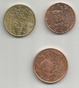 MONETE FRANCIA FRANCE CENT E EURO ANNO 1999 UNC SCEGLI QUELLE CHE TI SERVONO