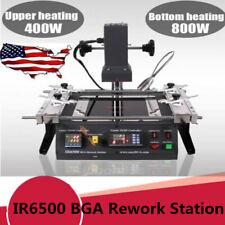 1250w Ir6500 Bga Rework Station Soldering System Infrared Reballing Machine Usa