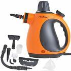 VonHaus 07-725 900W 250ml Hand Held Steam Cleaner - Orange