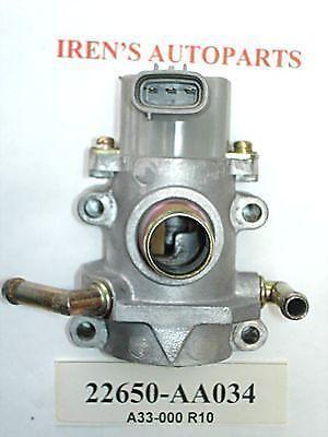 90-99 SUBARU LEGACY IMPREZA  IDLE AIR CONTROL Valve IAC 22650 AA033 A33-000 R10