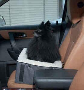 Pet-Gear-Dog-Pet-Elevated-Raised-Booster-Car-Seat-Carrier-18-034-Medium-Slate