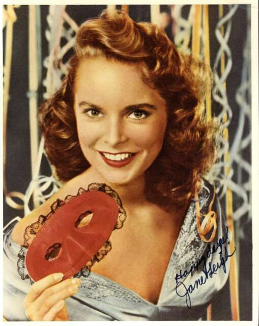 JANET LEIGH HAND SIGNED PSA DNA COA 8X10 PHOTO Autographed Authentic 4