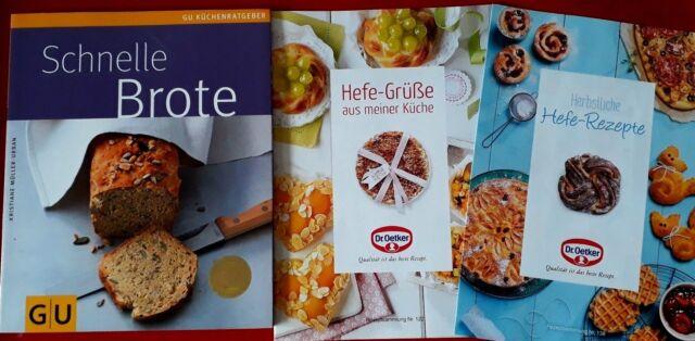 GU Backbuch schnelle Brote inkl. Rezepthefte Dr. Oetker