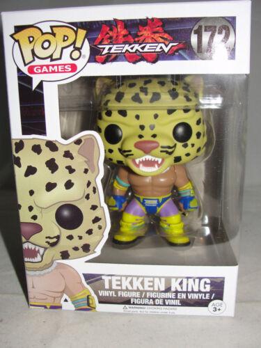 Funko Pop Games Tekken King Classic Vinyl Figure-New
