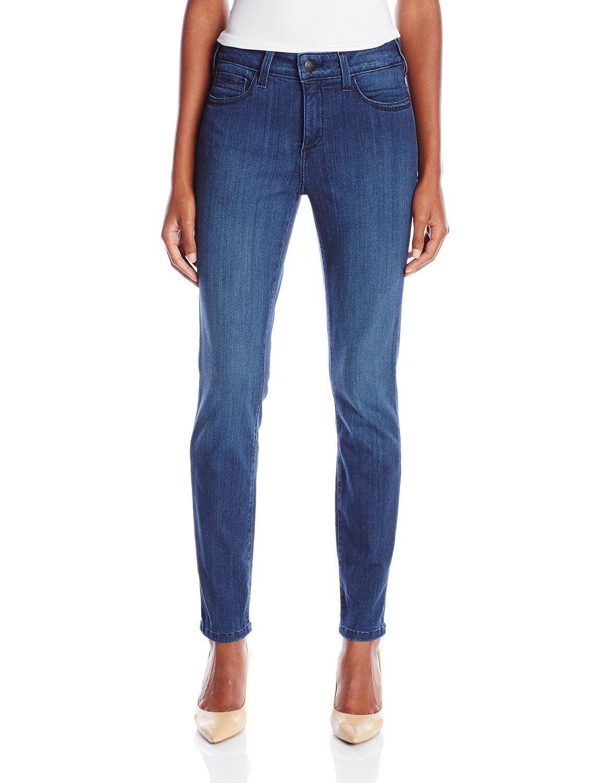 NEW NYDJ Not Your Daughters Jeans pants Ami Danforth dark bluee LEGGINGS 14 or 16