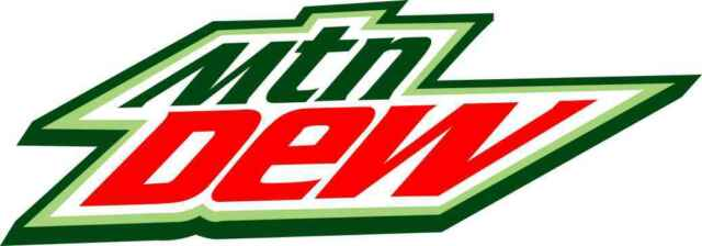 "6.75"" Mtn Dew Soda Decal Sticker Toolbox Hard Hat Cell Phone Do the Dew Mountain"