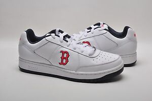 986b97d8e3a3 Reebok Men s Shoes MLB Clubhouse Exclusive 171481 Red Sox White Navy ...