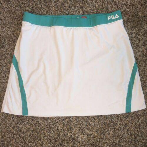 Womens Fila White Teal Turquoise Tennis Golf Mini