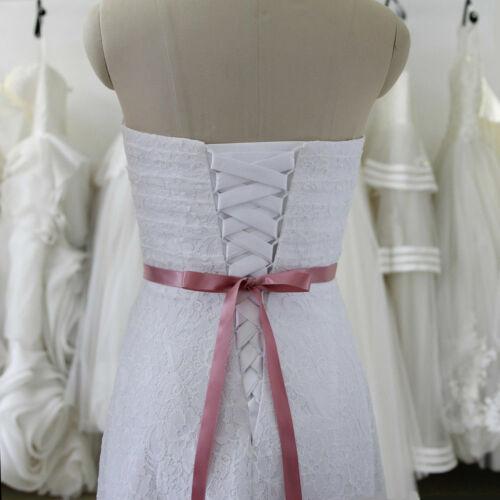20 Color Handmade Dazzling Rhinestone Pearl Wedding Party Prom Sash Bridal Belt