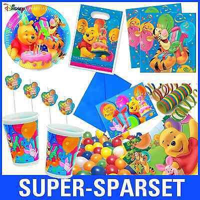 * Winnie Pooh Birthday * von Disney MEGA-AUSWAHL zum Kindergeburtstag Geburtstag