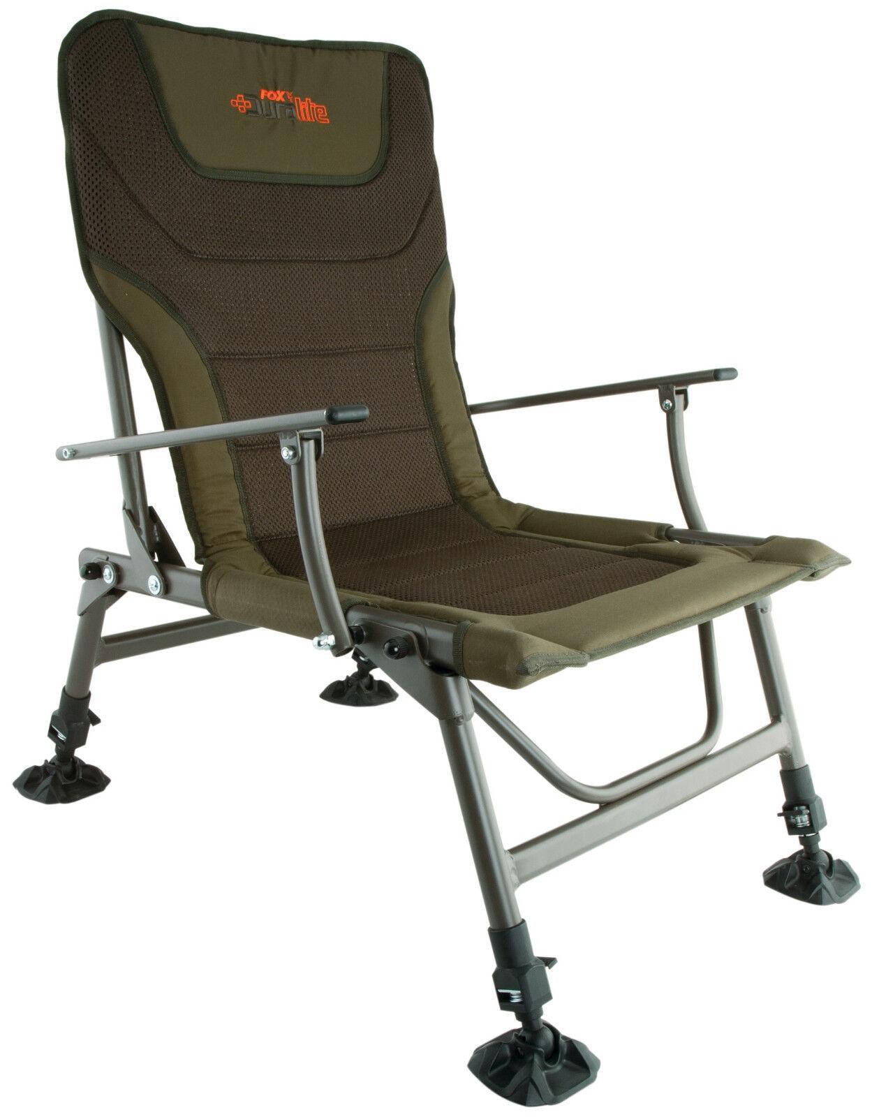 Fox Duralite chair cbc059 Carpe Chaise siège carpchair chair Angel chaise