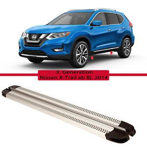 Nissan-X-Trail-Aluminium-Alu-Trittbretter-Seitenschweller-V2-ab-Bj-2014
