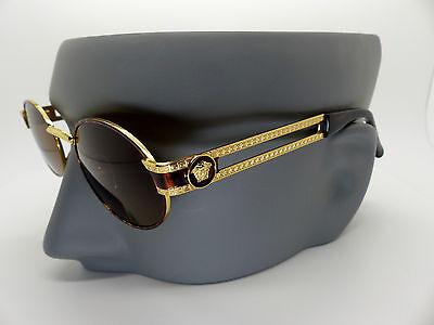 Genuine Rare Vintage Gianni Versace Medusa Sunglasses Mod S68 Col 55M *NOS*