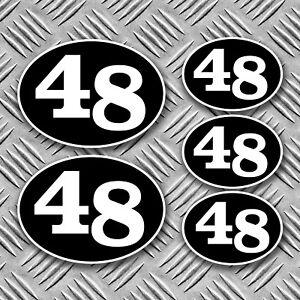 cafe-racer-48-retro-stickers-scooter-racer-rocker-decals-kustom-harley-BSA