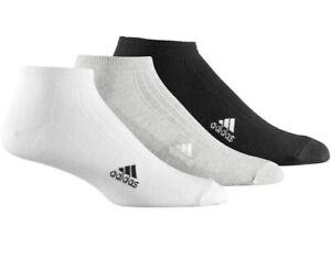 Adidas Liner Cheville Sports Fitness Trainer Chaussette Mixte (3 Pack) - Uk 8.5-11-afficher Le Titre D'origine