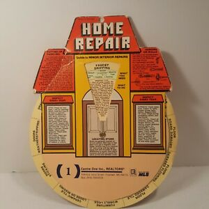 Quick-Refrence-Guide-To-Home-Repairs-Realtor-Advertising-1980-Wheel-Vintage