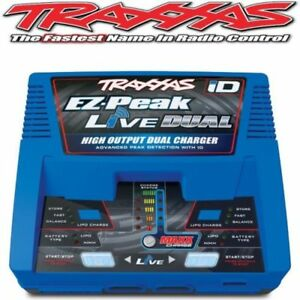 TRAXXAS-TRA2973-EZ-Pico-Live-Cargador-Doble-200W-2973-MAXX-UDR-E-X-REVO