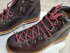 Moncler-Vintage-Boots-Schuhe-Stiefel-Matterhorn-Leather-Hiking-Boots-43